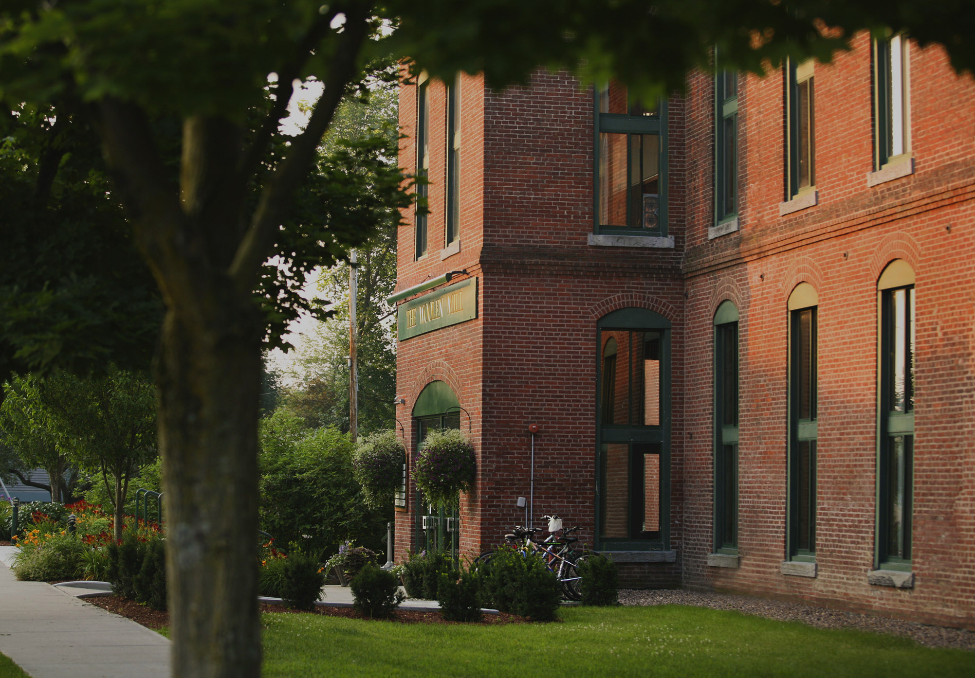 The Woolen Mill loft apartments in Winooski, Vermont
