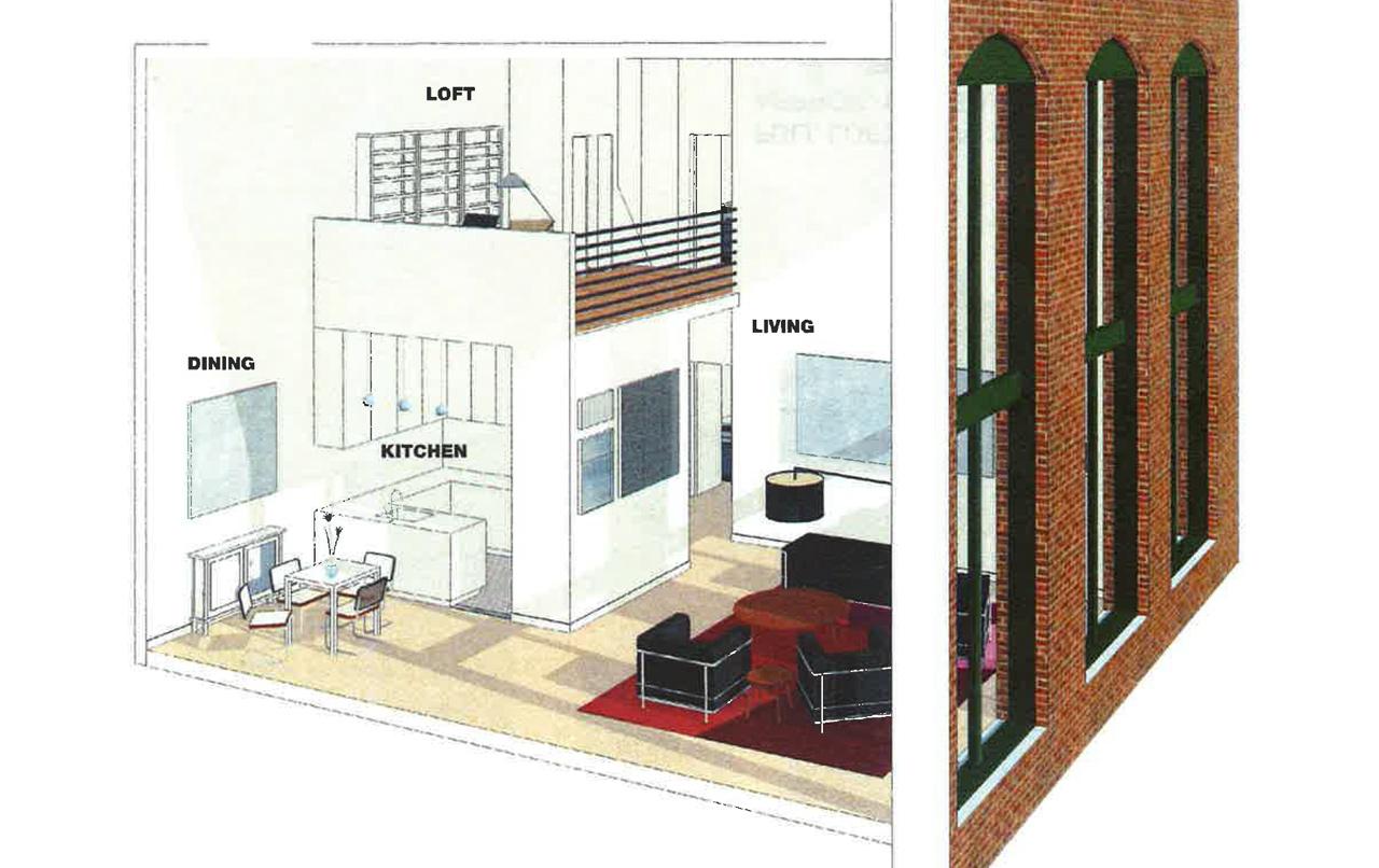 Duplex Two Bedroom