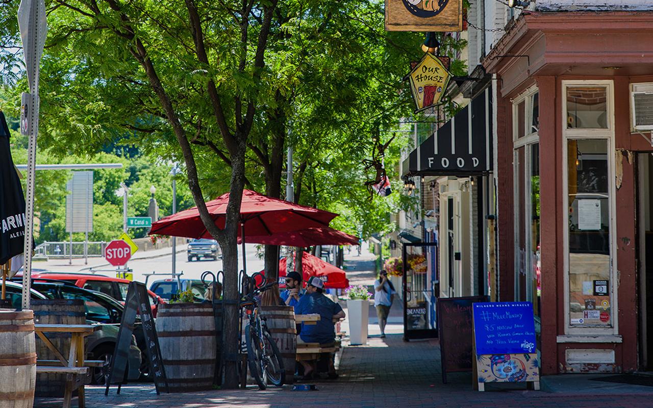 Downtown Winooski, VT