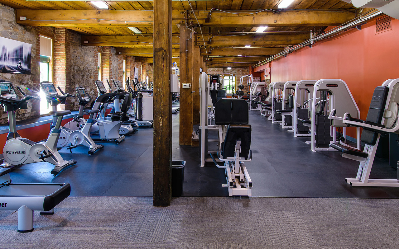 Fitness Center at The Woolen Mill